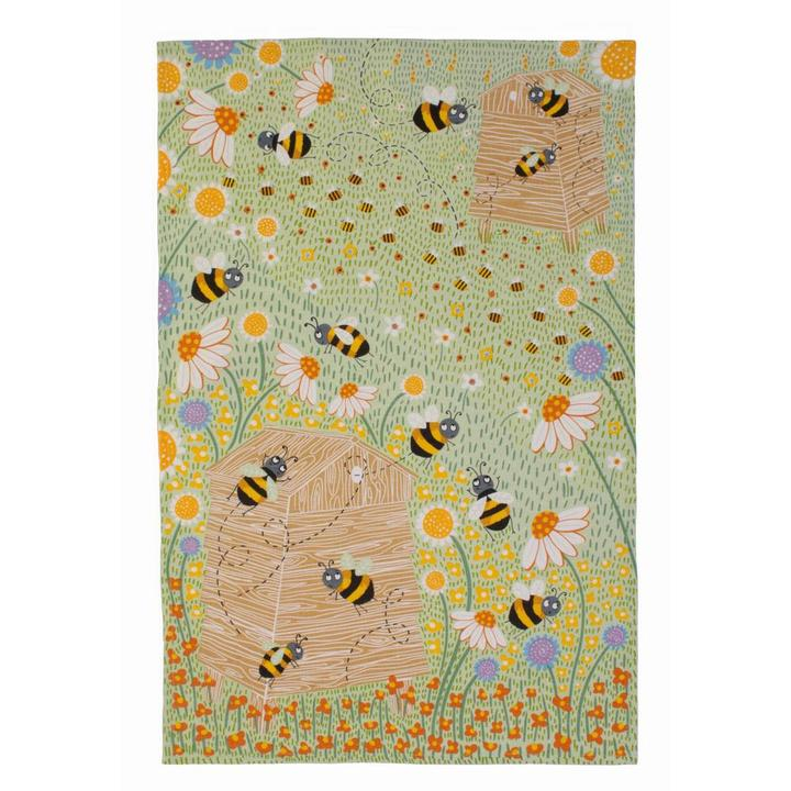 Tea Towel -  Daisy Bees