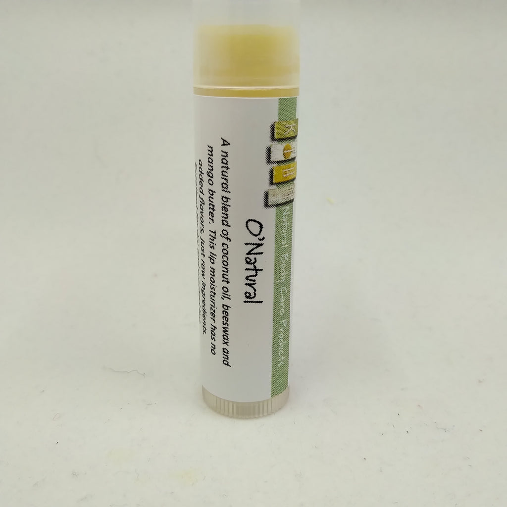 NATURAL Lip Balm, made with Beeswax