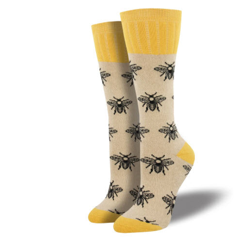 "Socks - ""Outland"" Bee -  Women's"