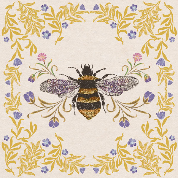 Greeting Card - Animal Kingdom Bee