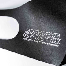 Load image into Gallery viewer, Singapore Grand Prix Monochrome Mask Single Right Side