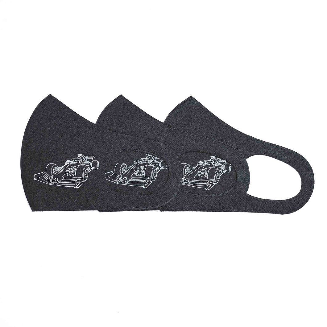 Singapore Grand Prix Monochrome Mask Set of 3