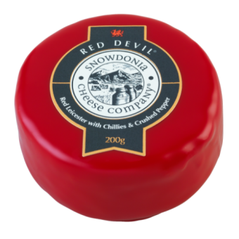 Snowdonia cheese Red Devil