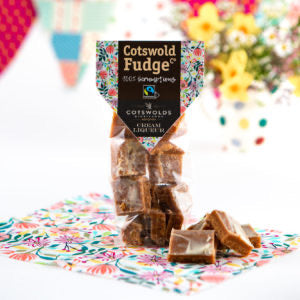 Cream liqueur fudge by Cotswold fudge co.