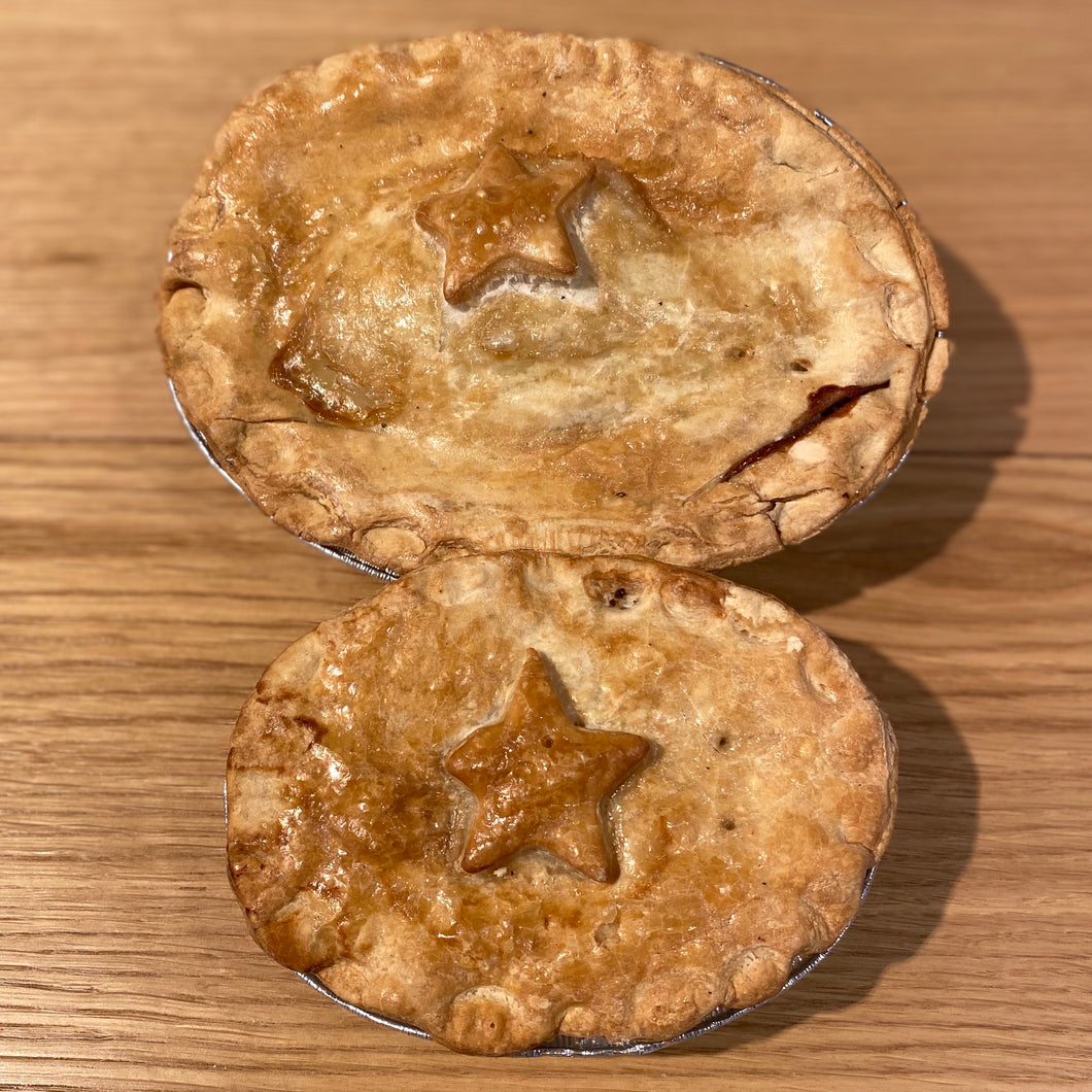 Homemade Minced beef & Onion pies