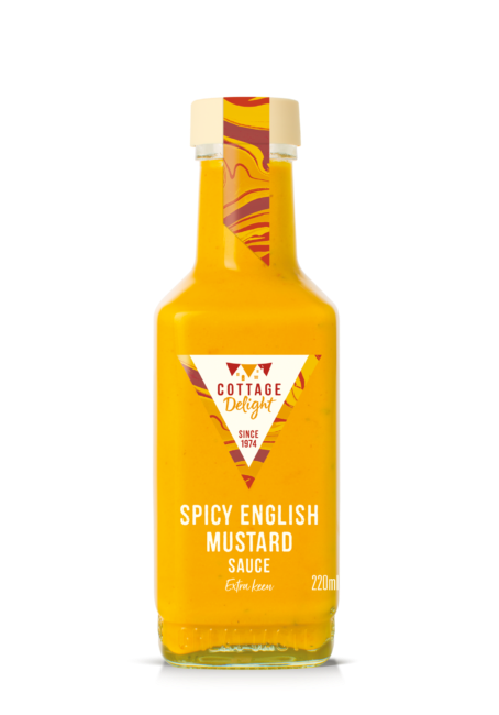 Spicy English mustard