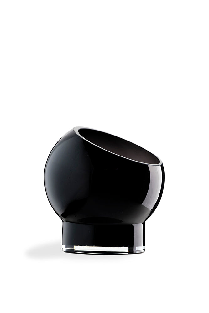 Bliss bowl-vase. Black
