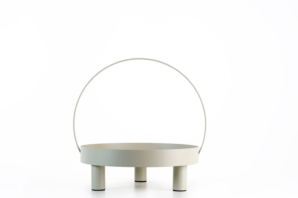 Stillness tray table. Light grey