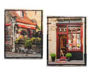 "Set of 2 - 8"" x 10"" Canvas Wraps European Photos"