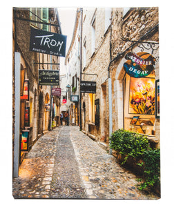 Alley in Artistic Saint Paul de Vence France