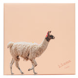 LLove That LLama  Canvas Wrap Photo 3 sizes