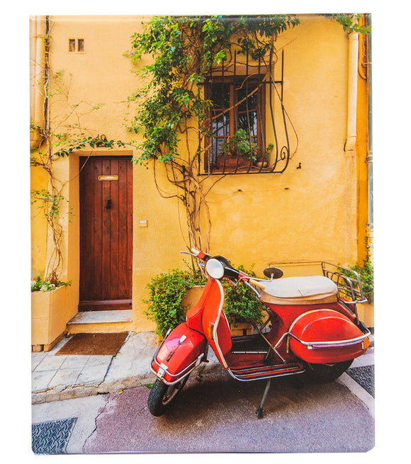 Red Scooter in Antibes France