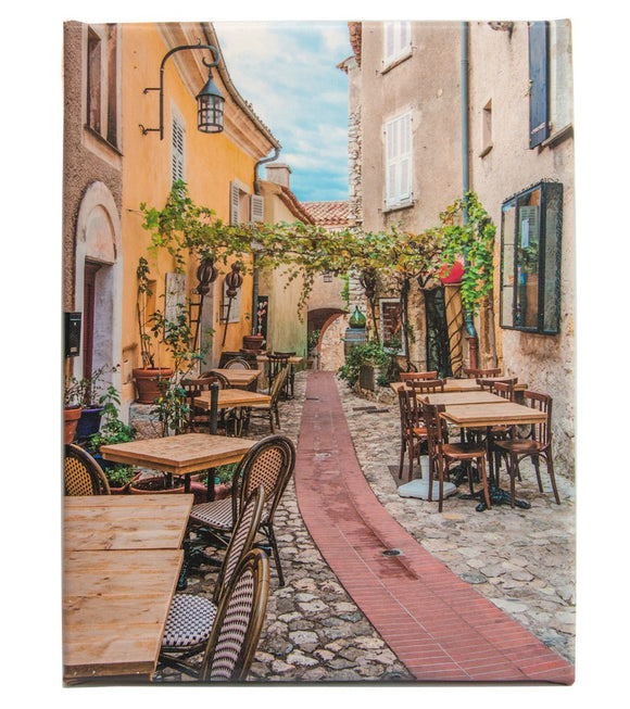Alley Cafe in Eze Village South of France