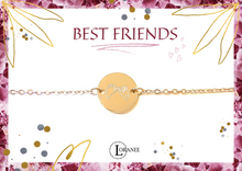 Lade das Bild in den Galerie-Viewer, BEST FRIENDS Rosegold 1x