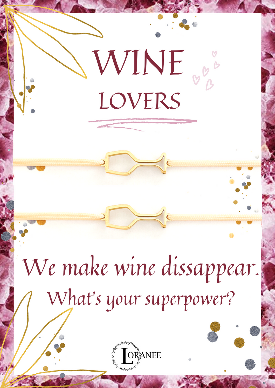 WINE LOVERS Gold 2x