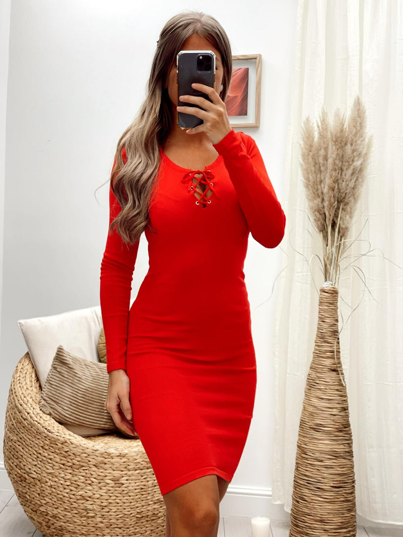 Robe SARENA - ROUGE (6013626319002)