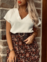 Blouse CHARLINE - BLANC (5900429623450)