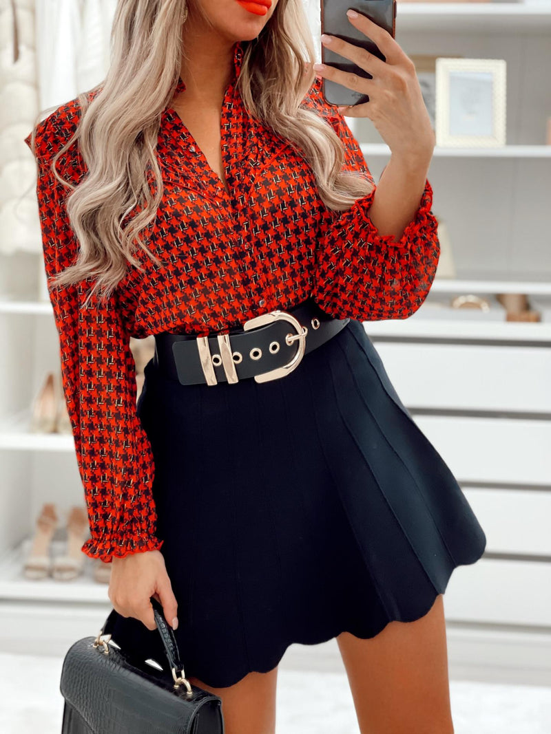 Blouse WILMA - ROUGE (6108653617306)