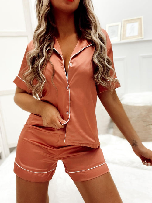 Ensemble pyjama-short ZINA - ROSE (6140325658778)
