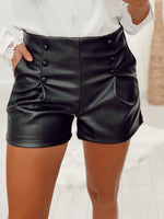 Short simili-cuir AKINA