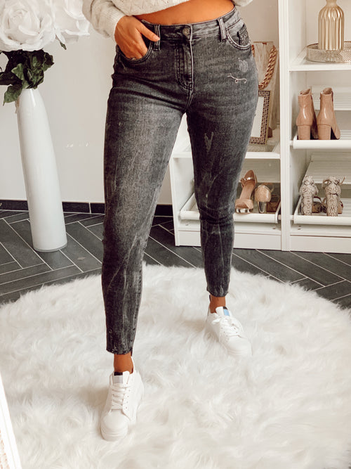 Jeans skinny ARIA - GRIS (5899034165402)