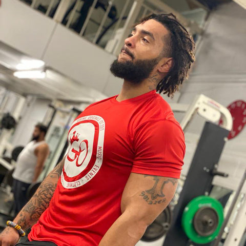 Crown Training T-shirt Red