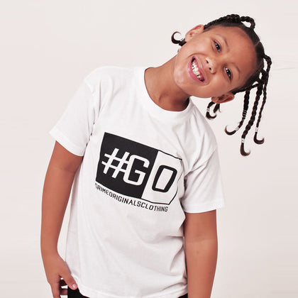 Kids #GO T-shirt (Various)