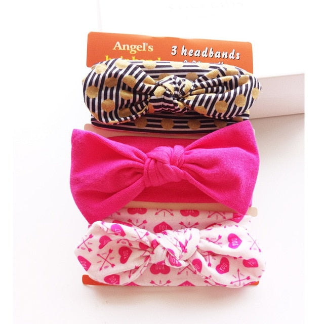 Bow Elastic Baby Girl Hairband