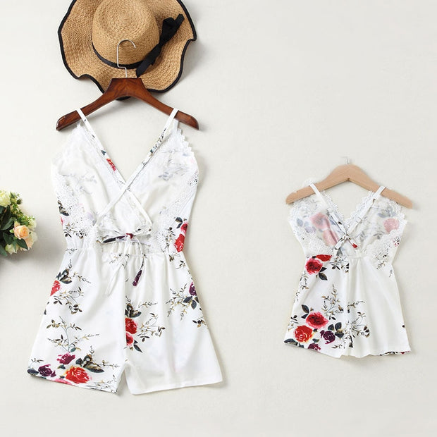 1 Piece Mother Daughter Dresses.