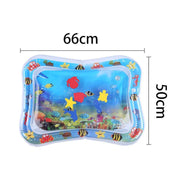 Summer inflatable water mat for babies.