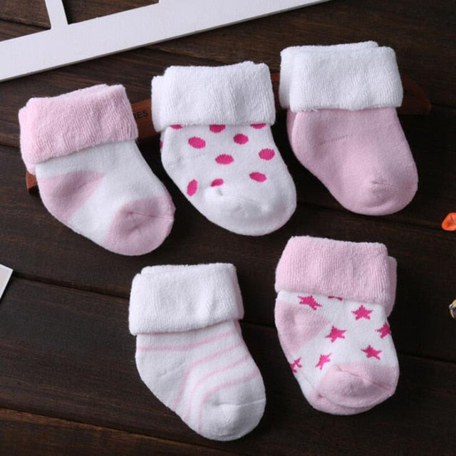 Winter Toddler Socks