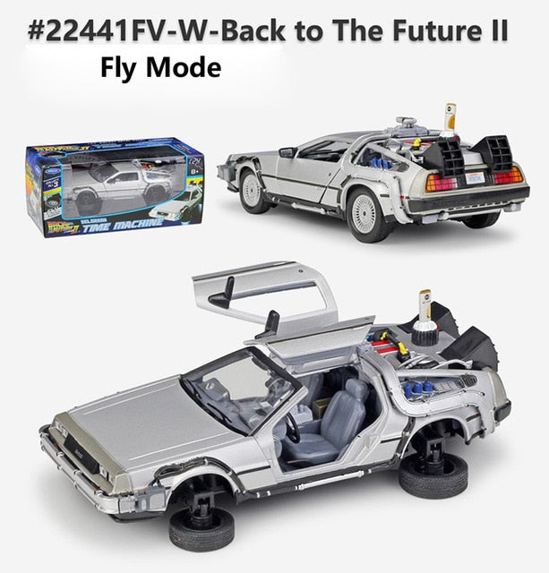 Time Machine Metal Toy Car