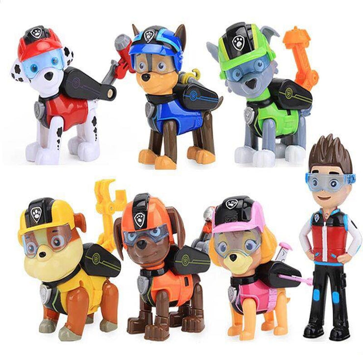 Paw Patrol Captain Ryder Toy Set