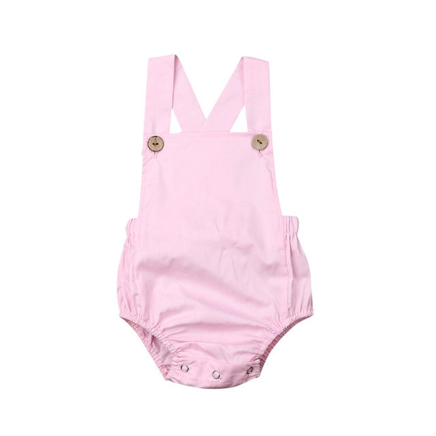 Baby Girl Striped Sunsuit