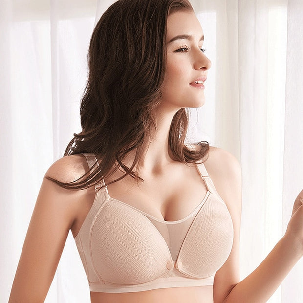 Breathable Cotton Maternity Nursing Bra
