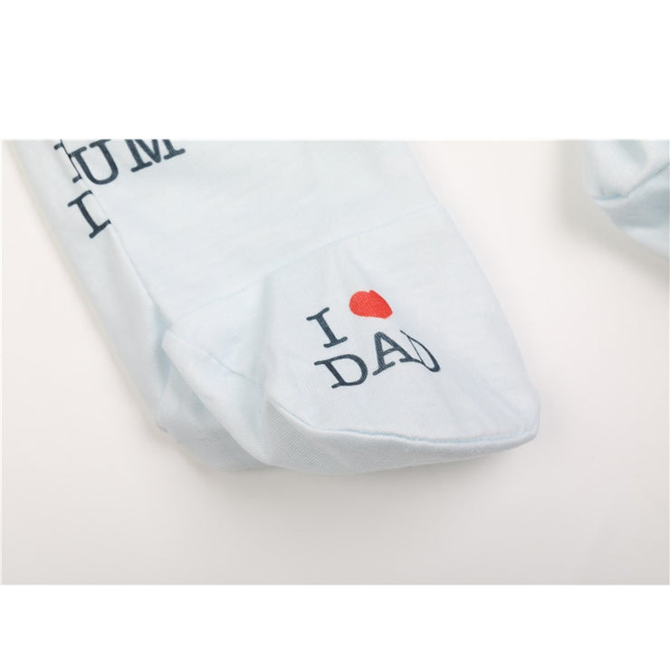I Love Dad Baby Romper