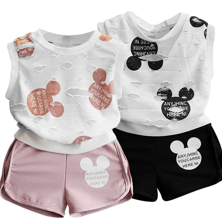Summer Style Baby Clothing Sets.