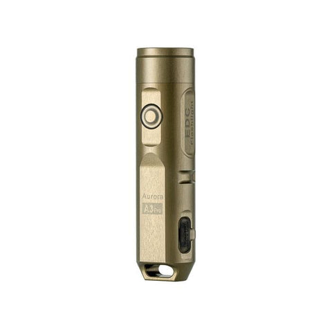 RovyVon | Aurora A3 Pro 7075 Al Flashlight | Desert Tan, EDCFlashlight, RovyVon,Adventure Carry