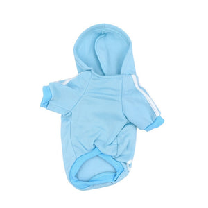 Winter Dog Hoodies for Small Medium Dogs Soft Fleece Puppy Clothes Coat  Sweatshirt Dog Outfits Pet Bulldog Pug Hoodies Clothes