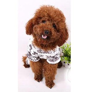 New Dog Winter Coat Snowflake Pet Fleece Warm Clothes Puppy Cat Hoodies Jumpsuit 2019