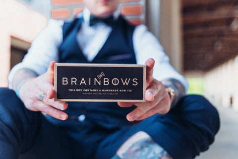 bow tie eco packaging biodegradable