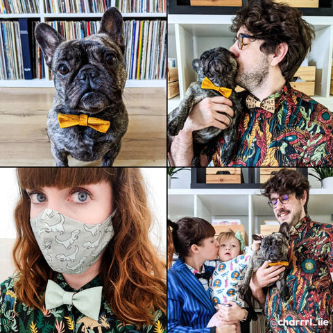 bow ties for the whole family