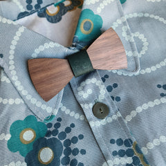 kids wooden bow ties