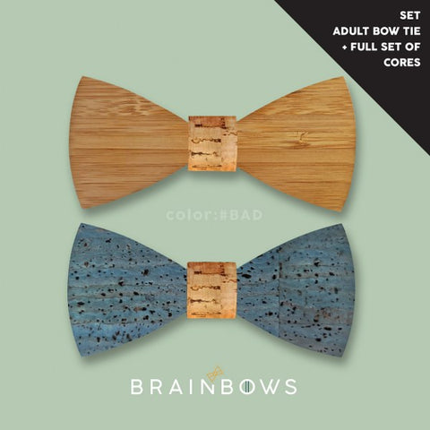 Timbow - Sheldon in bamboo/blue + FULL set of cores (adult)