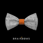 kids bow tie core cognac