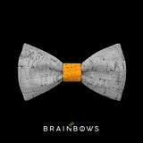 kids bow tie core yellow