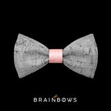 kids bow tie core pink
