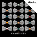 full set of cork bow tie cores kids size