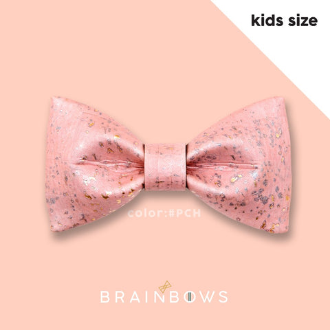 pink champagne cork bow tie