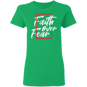 Faith Over Fear - Premium Tee - My Christian Shop